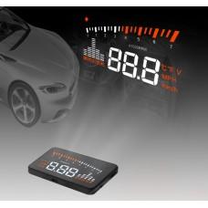 Univerzális TRB X5 GPS HUD projektoros szélvédő kijelző, OBD II, HEAD UP DISPLAY