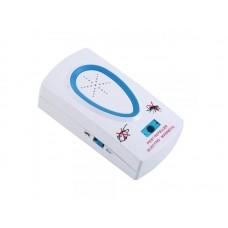 Elektromos rágcsálóriasztó és rovarriasztó (EU) (egér, bogár, szúnyog, bolha, hangya, parazita stb. riasztására alkalmas)