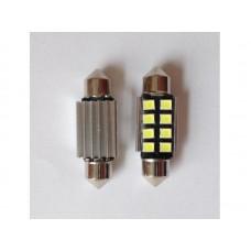 LED rendszámtábla világítás-12V, 6000 K rendszámtábla világítás izzó