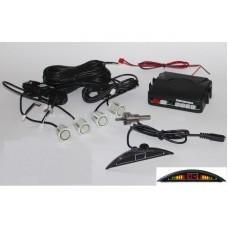 Golden Eye 2616 LED tolatóradar, tolató radar, PDC, tolatást segítő, parkolósegéd (4 db fehér színű szenzorral)