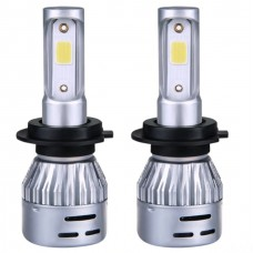 2 db / szett Trafó nélkül működő LED-es hybrid szett, izzó 12V 8000Lm H1 6500K