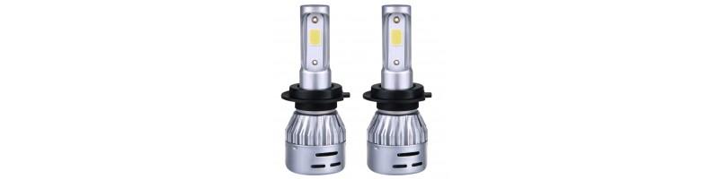 2 db / szett Trafó nélkül működő LED-es hybrid szett, izzó 12V 8000Lm H11 6500K