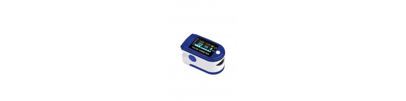 Hordozható, LED kijelzős, ujj pulzusszám mérő, véroxigén mérő, pulzoximéter, oximéter