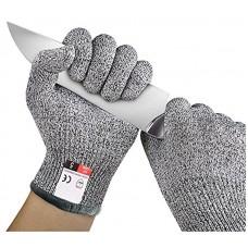 1 pár vágásbiztos, vágás elleni kesztyű, munkavédelmi kesztyű