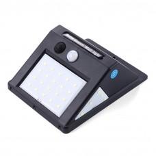 30 LED-es, napelemes, mozgásérzékelős, vízálló világítás kültéri és beltéri használatra