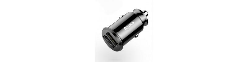 Baseus Mini 2 USB DUAL autós töltő 3.1A fekete színben