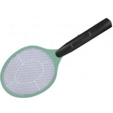 Háztartási, elektromos rovar, szúnyog, légycsapó zöld színben