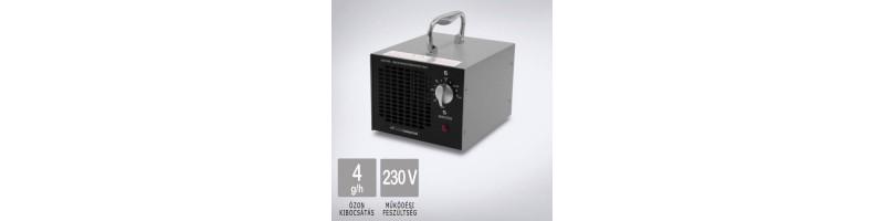 OZONEGENERATOR Silver 4000 ózongenerátor készülék gyors-cserés ózonkazettával, akár 96m2 ózonkezeléséhez