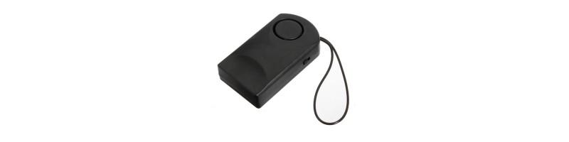 Hordozható ajtónyitás érzékelő, ajtónyitás riasztó, ajtóriasztó 120dB