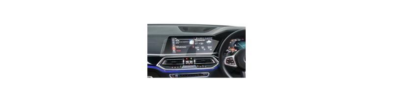 BMW X5 G sorozathoz  9H keménységű navigáció kijelzővédő fólia, edzett üveg fólia