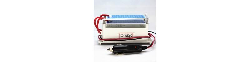 TRB Hordozható, kerámia ózongenerátor, ozone generátor, levegőtisztító készülék 12V 10g szivargyújtós