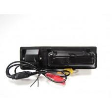 BMW 5-Sorozat F10, 3-Sorozat F30, X3 F25 rendszámtábla világítás helyére kamera, tolatókamera, éjjellátó, infrás, 170 fokos