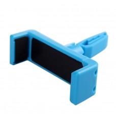 Univerzális, szellőzőre csatlakoztatható autós telefontartó Samsung, iPhone, HTC, Nokia, Sony telefonokhoz kék színben