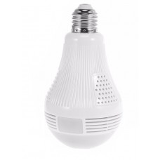 LED villanykörte biztonsági kamera, rejtett kamera, 360°-os látószög, WiFi, E27 foglalat