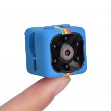 2018 Mini TRB11 HD 1080P kamera, videókamera, akciókamera éjjellátó funkcióval kék színben