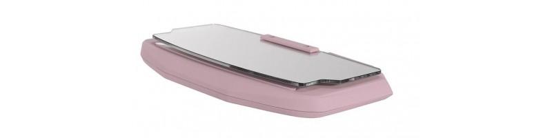 Univerzális szélvédős sebesség kijelző, GPS HUD kijelző okostelefonhoz pink színben