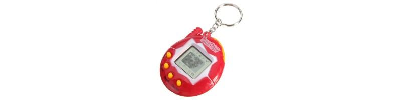 Tamagotchi, Tamagocsi, nosztalgkius virtuális kisállat szimulátor piros színben
