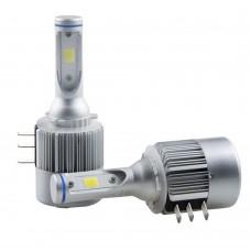 TRB fehér 21 SMD H15 LED-es izzó, nagy fénysugarú DRL Audi, BMW, Mercedes-Benz, Volkswagen autókba 6000K
