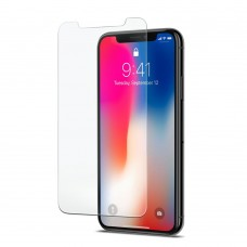 Apple iPhone X 5D üvegfólia fekete kerettel 0,30 mm vastag 9H keménységű