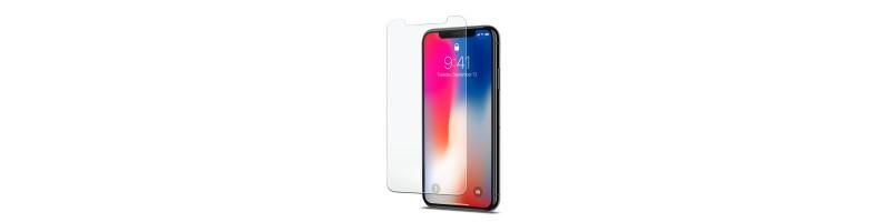 Apple iPhone X, XR, XS, 5D üvegfólia fekete kerettel 0,30 mm vastag 9H keménységű