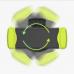 Univerzális, szellőzőre csatlakoztatható autós telefontartó Samsung, iPhone, HTC, Nokia, Sony telefonokhoz zöld-fekete színben