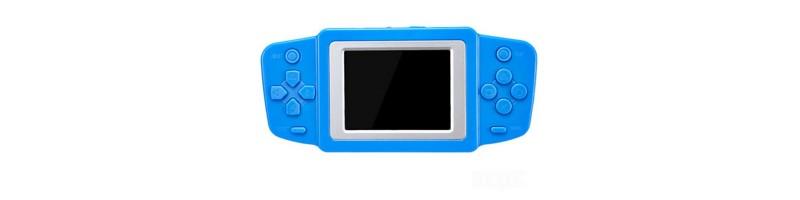 2.5'' Ultra-vékony hordozható retro videójáték, játékkonzol 268db játékkal kék színben