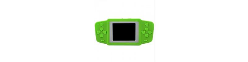 2.5'' Ultra-vékony hordozható retro videójáték, játékkonzol 268db játékkal zöld színben