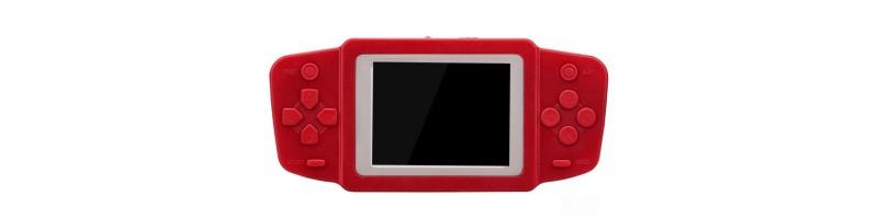 2.5'' Ultra-vékony hordozható retro videójáték, játékkonzol 268db játékkal piros színben