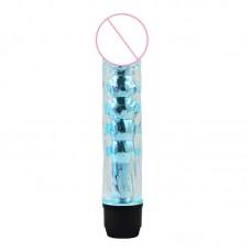 TRB Vízálló G-pont vibrátor, dildo világoskék színben