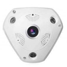 TRB 360°-os látószögű, vezeték nélküli, Wifi-s, 3 Megapixeles HD panoráma kamera, IP kamera, biztonsági kamera