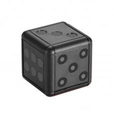 TRB16 Mini 1080P Full HD éjjellátó dobókocka alakú rejtett kamera, videókamera, DV kamera fekete színben