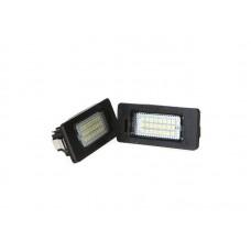 2 db 3528 SMD 24 LED-es engedélyezett autós izzó
